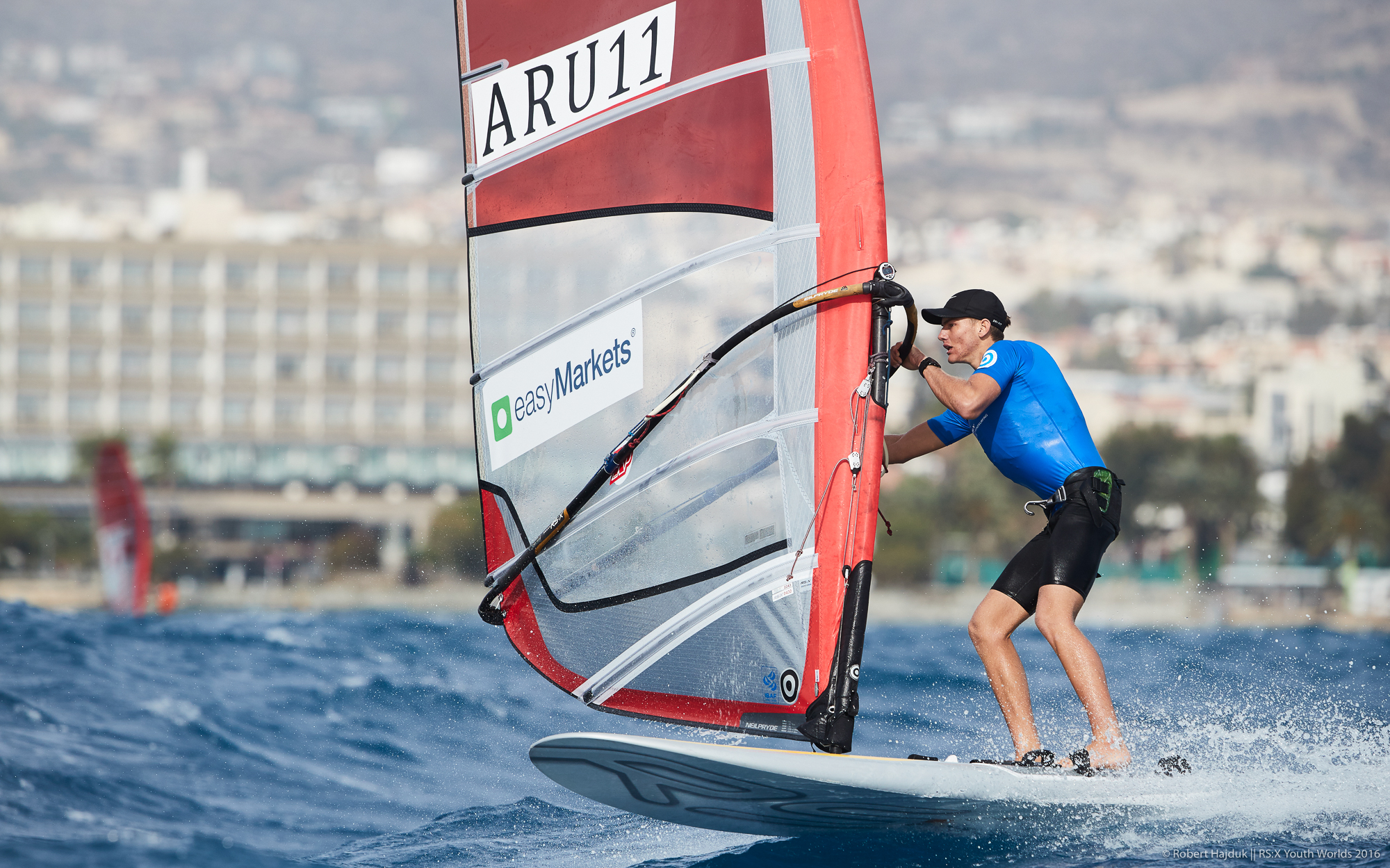 RS:X Youth World Championship || 2016-11-22, Limassol, Cyprus || © Copyright 2016 || Robert Hajduk - ShutterSail.com || All Rights Reserved ||